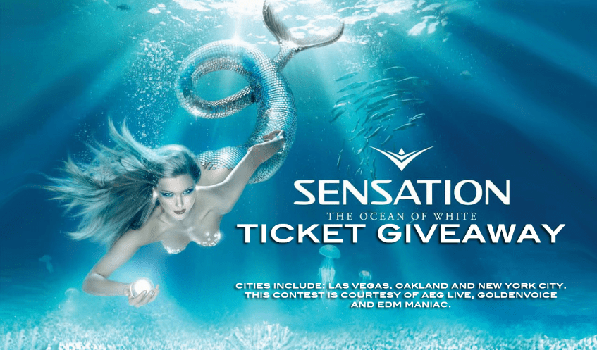Win SENSATION WHITE tickets