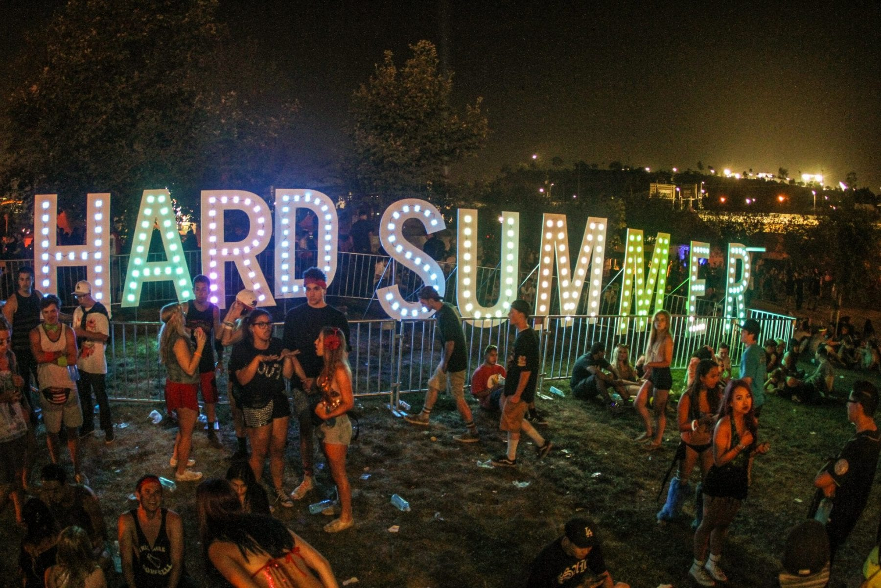 HARD SUMMER festival attendee died of rare disease, not drugs at LA festival.