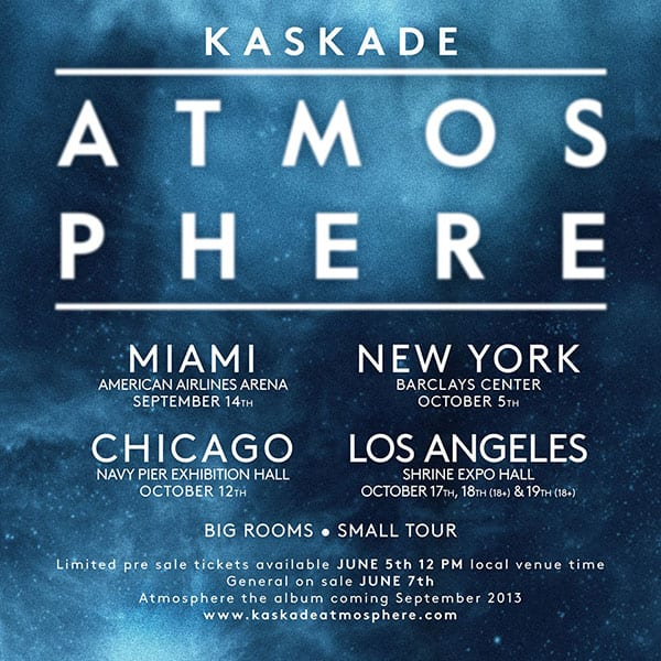 Win Tickets to KASKADE in Los Angeles on 10/17