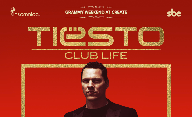 Event Review: Grammy Weekend at Create – Tiesto