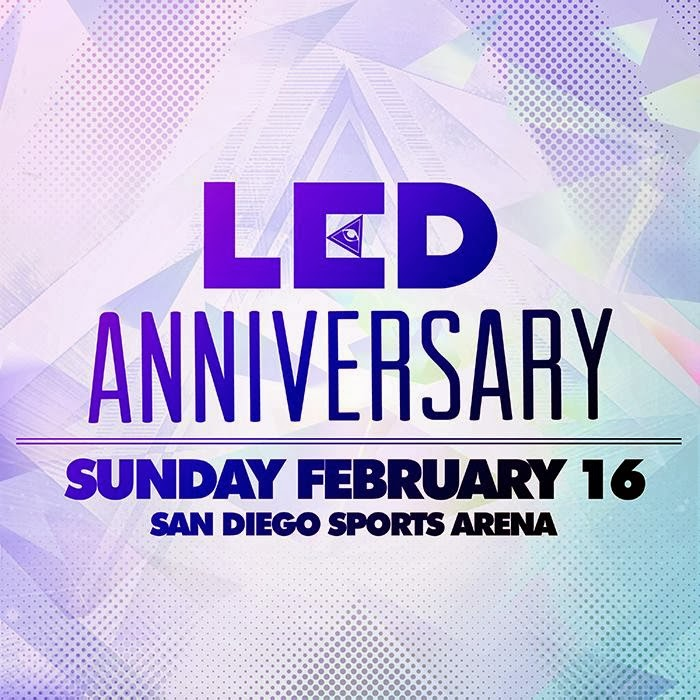 WIN TICKETS TO LED ANNIVERSARY!