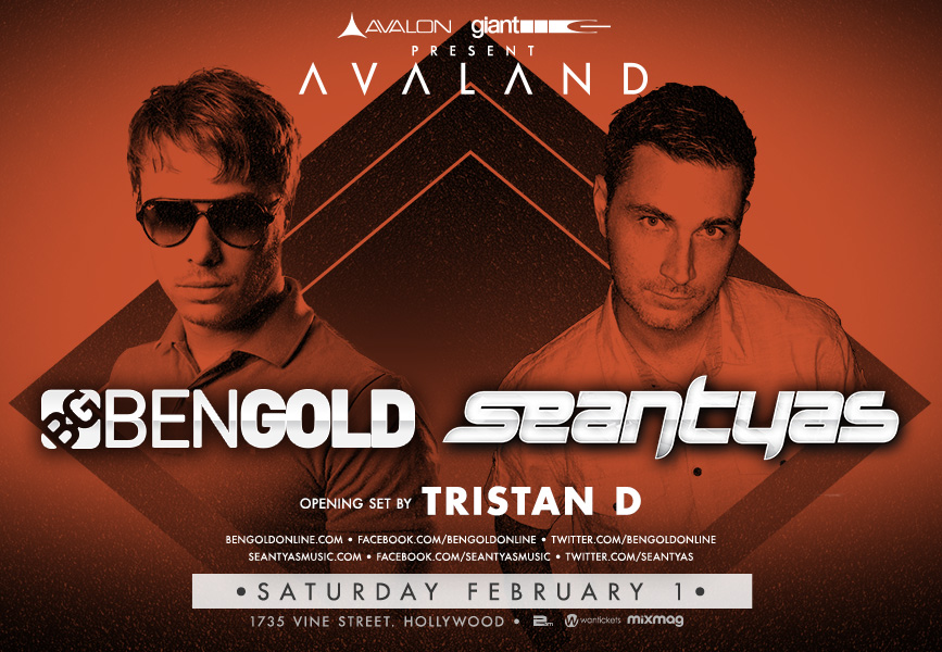 Sean Tyas Avalon Flyer