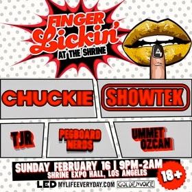 LED Presents x Goldenvoice Present: FINGER LICKIN (LA)