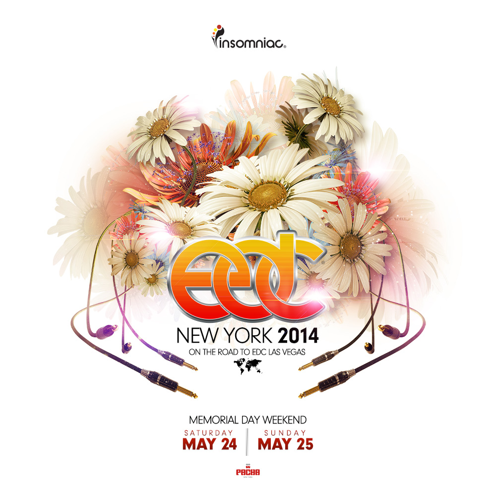 Insomniac Releases Artist Lineup for 3rd Annual Electric Daisy Carnival, New York