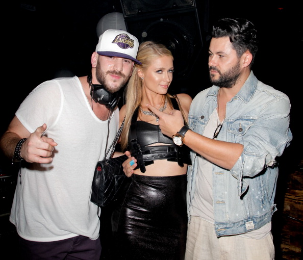 VIDEO: Paris Hilton DJ's in LA at Sound Nightclub (NSFW)