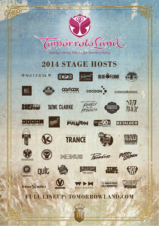 TOMORROWLAND-STAGES