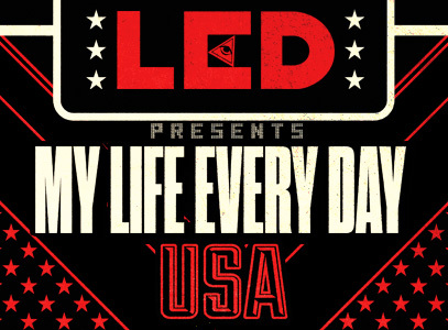 LED Throws Epic Memorial Day Weekend Party