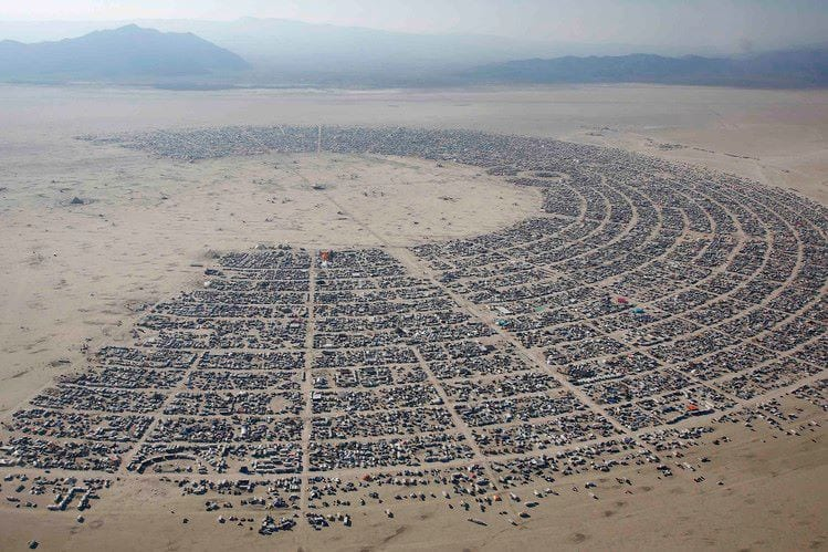Burning Man Gates Closed Due to Weather