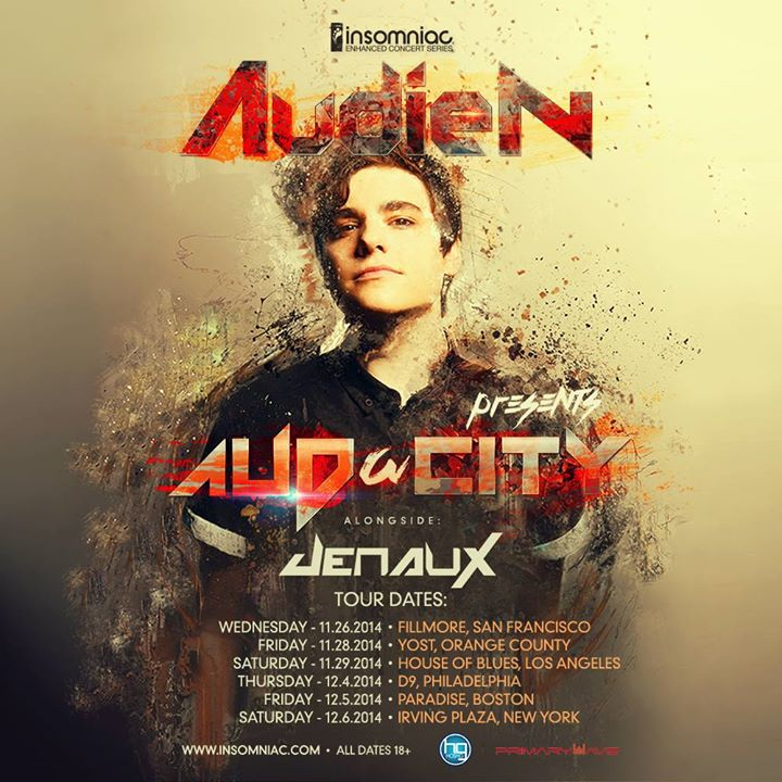 Insomniac Announces Fall Audien Tour