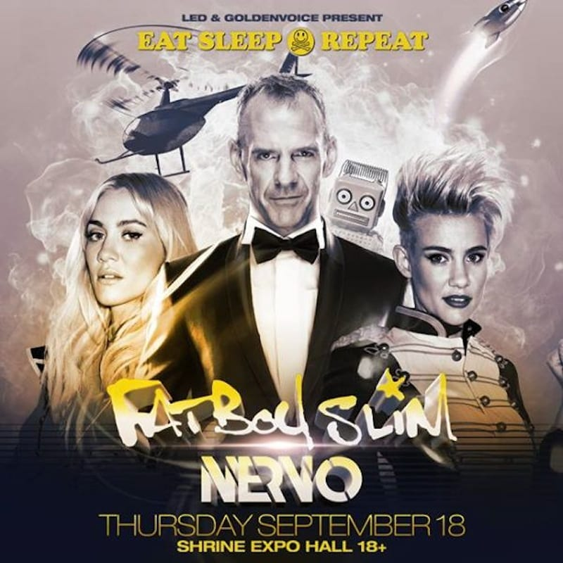 Preview: Fatboy Slim, Nervo & Oliver Heldens Take Over Los Angeles