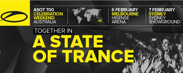 "Armin van Buuren Announces ""A State Of Trance"" Festival For Australia"