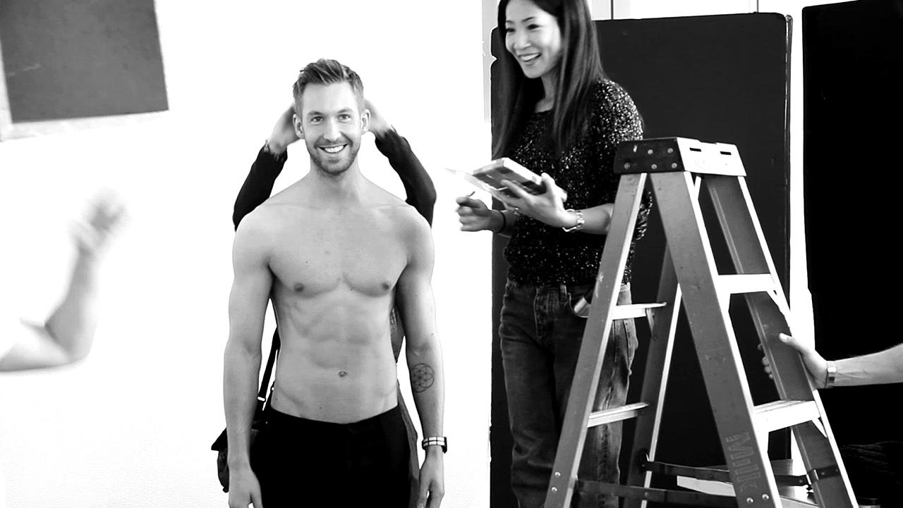 Calvin Harris' Underwear Photoshoot Breaks The Internet