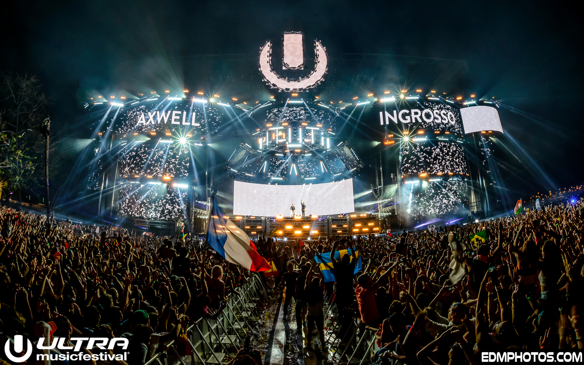 Few Arrests, And Glowing Remarks For This Year's Ultra Music Festival
