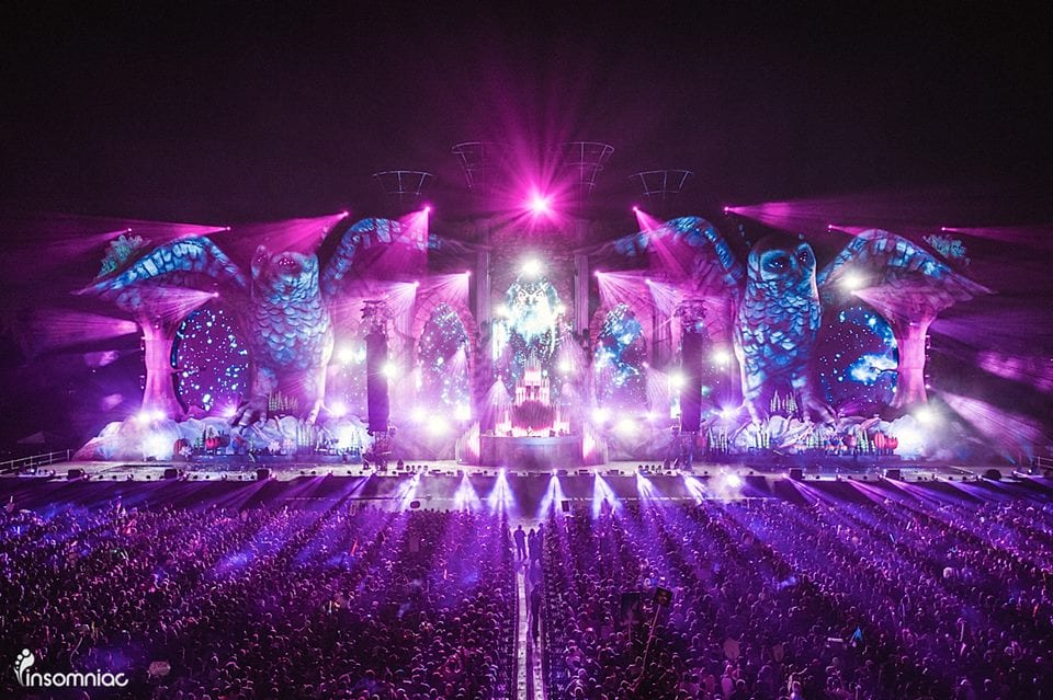 The Magic Behind Insomniac's Kinetic Cathedral Main Stage