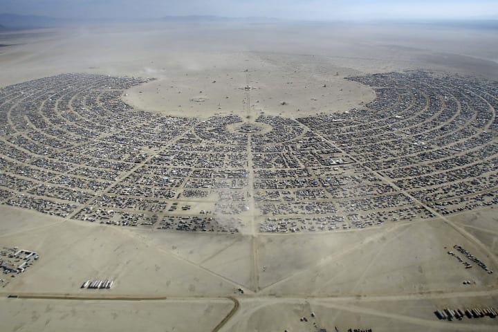 Arrests And Citations up at Burning Man