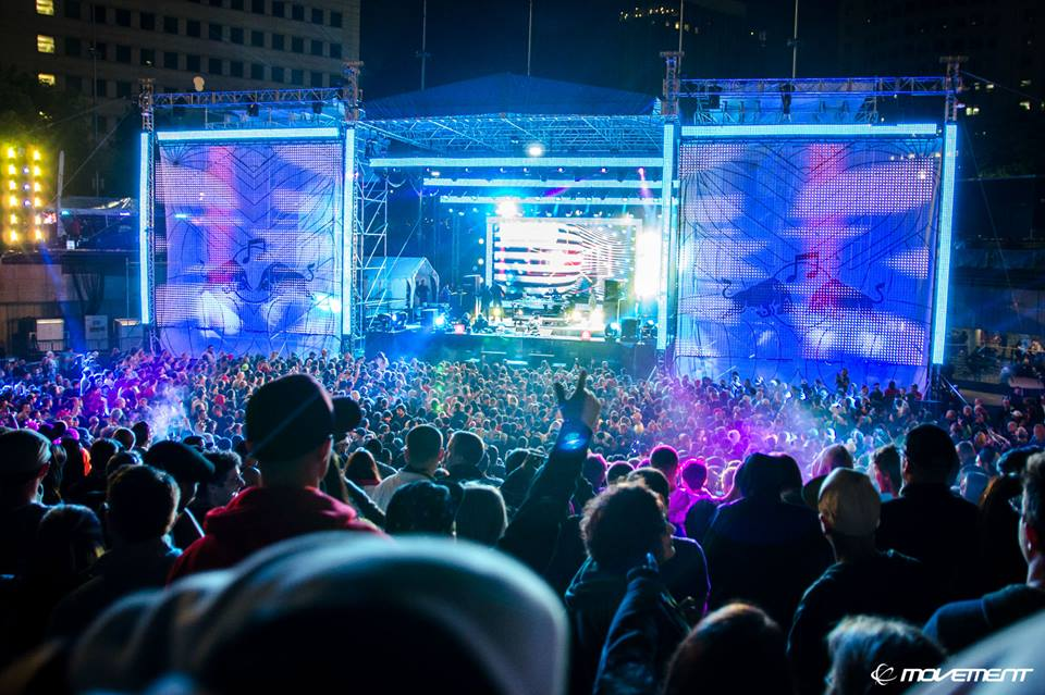 It's Time for Techno at Movement Electronic Music Festival