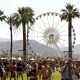 INDIO, CA - APRIL 10: A view of the ferris wheel during day 1 of the 2015 Coachella Valley Music & Arts Festival (Weekend 1) at the Empire Polo Club on April 10, 2015 in Indio, California.  (Photo by Karl Walter/Getty Images for Coachella)