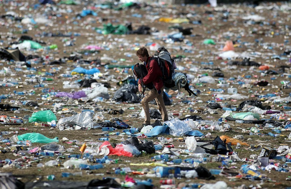 Why It's Important To Pick Up Your Trash At A Festival