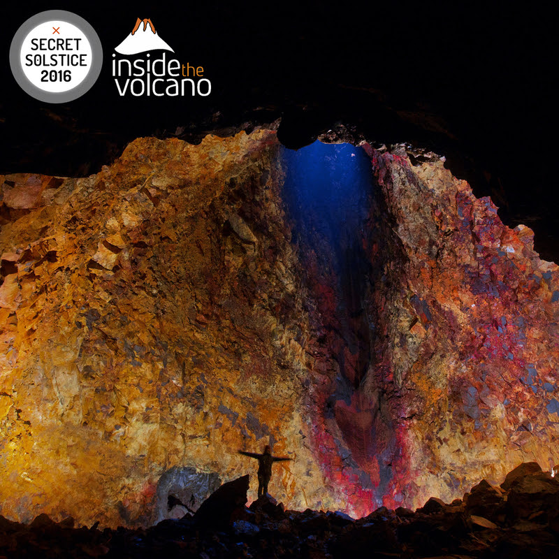 "Iceland's 2016 Secret Solstice Festival Heats Things Up With ""Inside The Volcano"" Event"