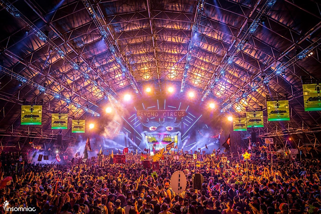 Lineup Unveiled For Insomniac's Escape 2016