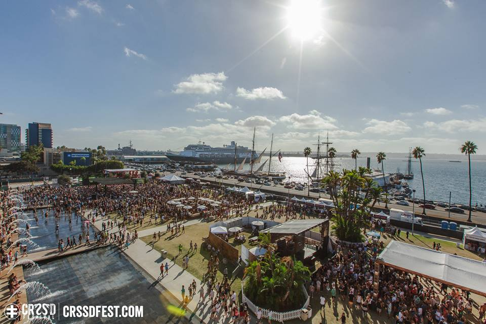 CRSSD Festival Returns With Vengeance To San Diego In March