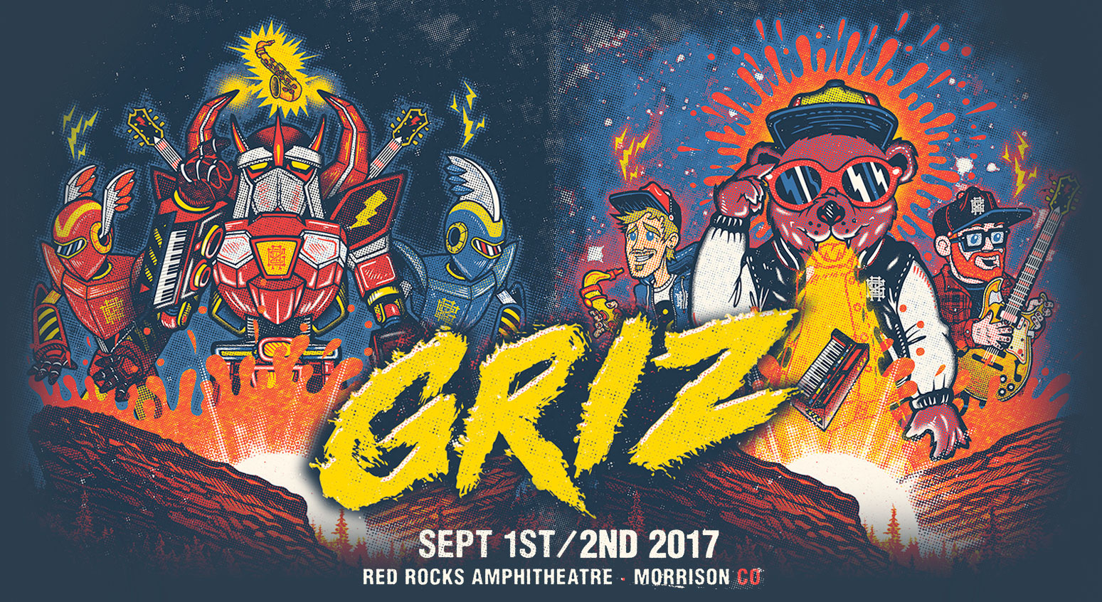 this year griz is unveiling a host of new additions to his signature red rocks run for the first time griz rocks is expanding to a jam filled 2 night