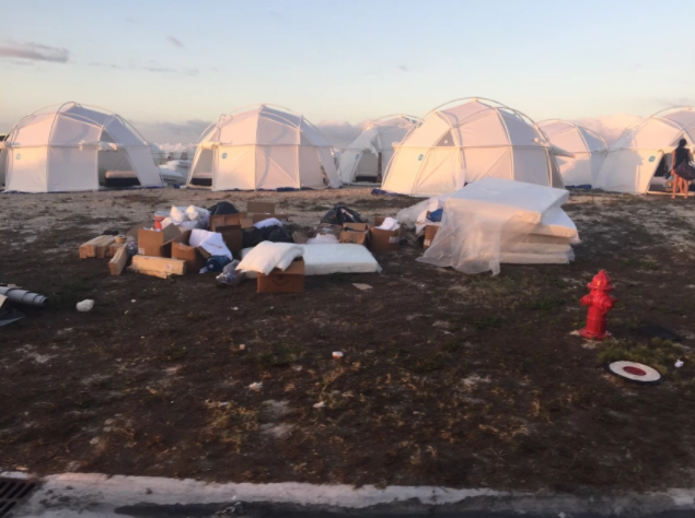 Ja Rule's Luxury Fyre Festival Turns Into A Hot Mess