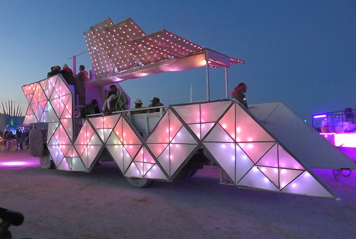Burning Man Art Cars Will Light Up Downtown Los Angeles Art Festival