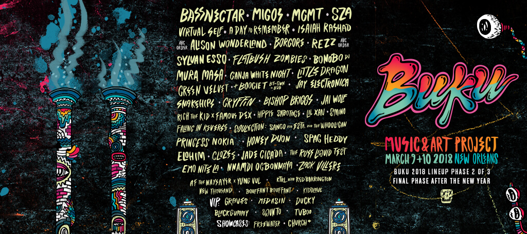 BUKU Adds More Jive to New Orleans