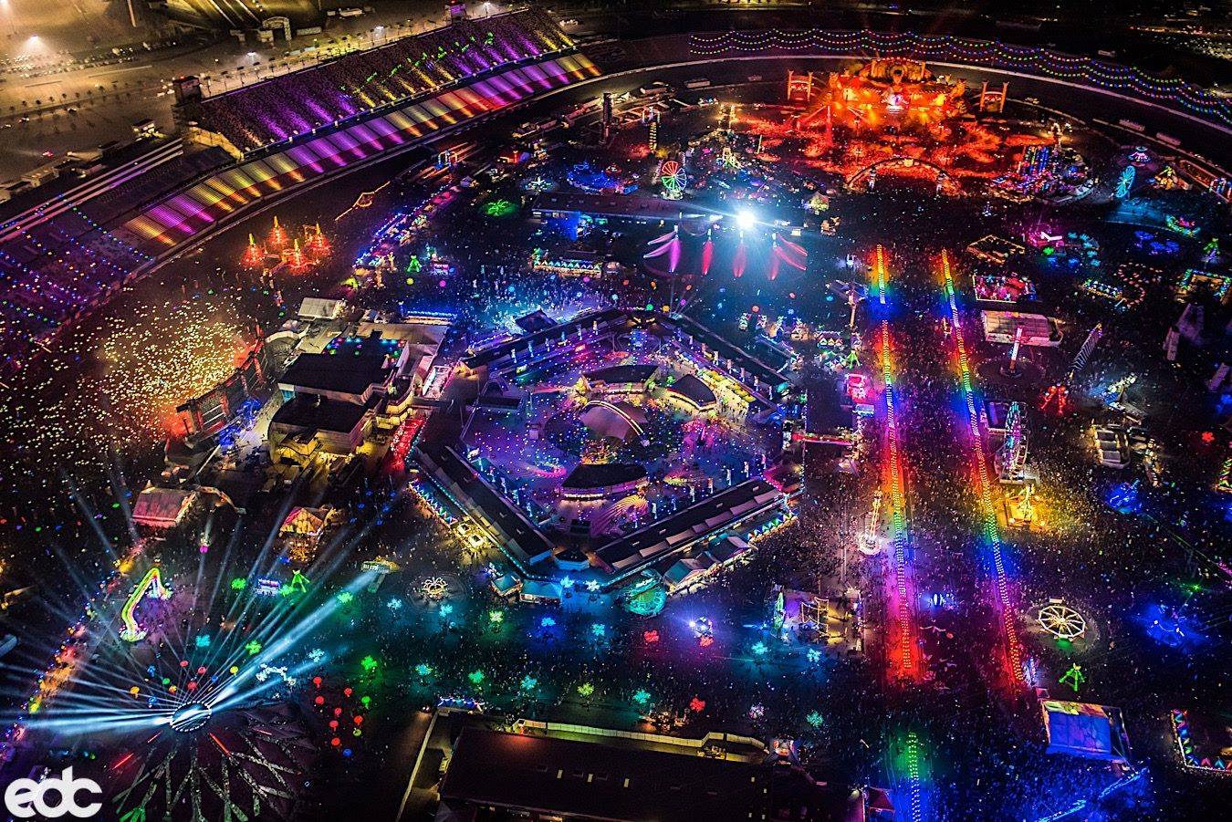 Fly To EDC Las Vegas From Los Angeles From $36 One Way