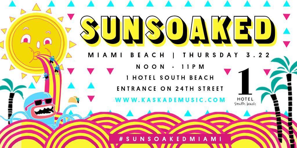 Kaskade Announces Sun Soaked Miami 2018 Tickets Info