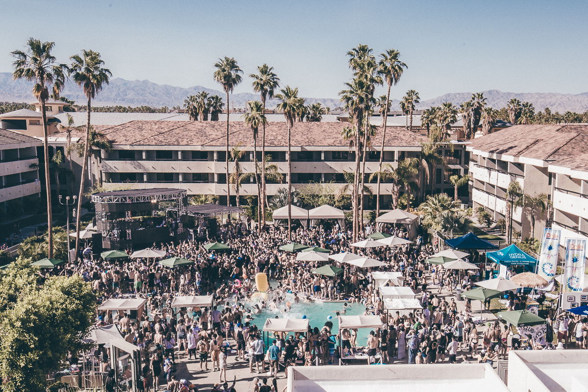 Day Club Palm Springs 2018 Returns During Coachella Weekends