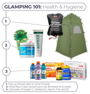 Glamping Health and Hygiene