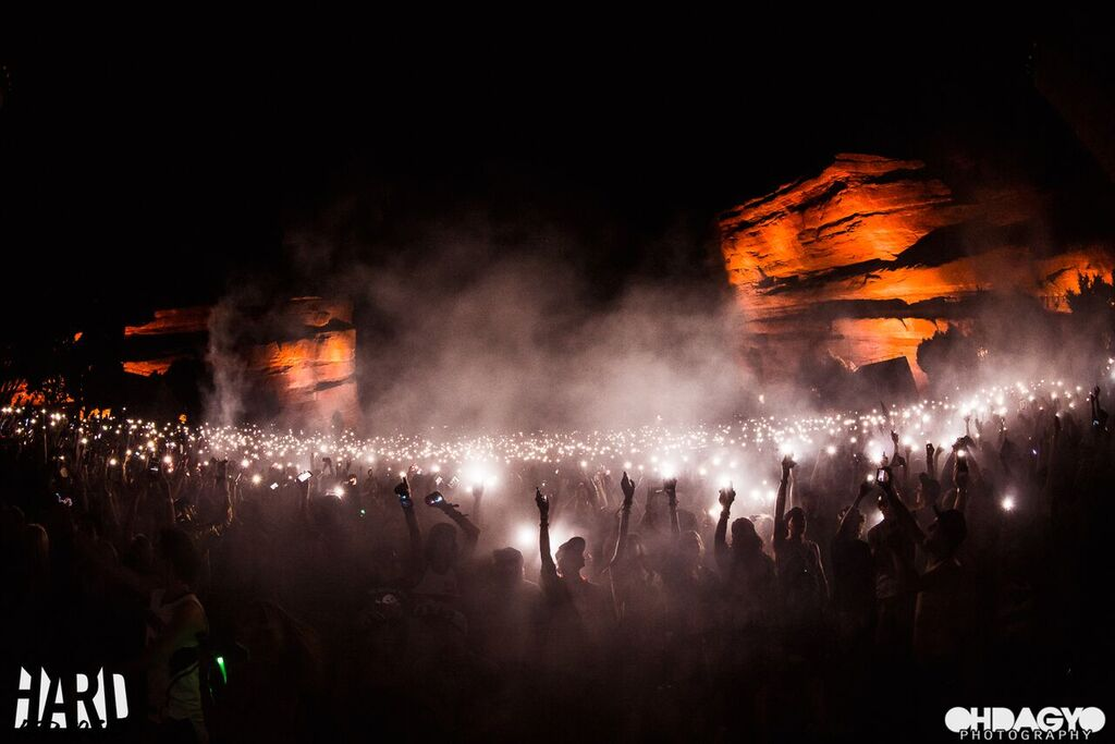 HARD Announces Stunning 2018 Red Rocks Lineup