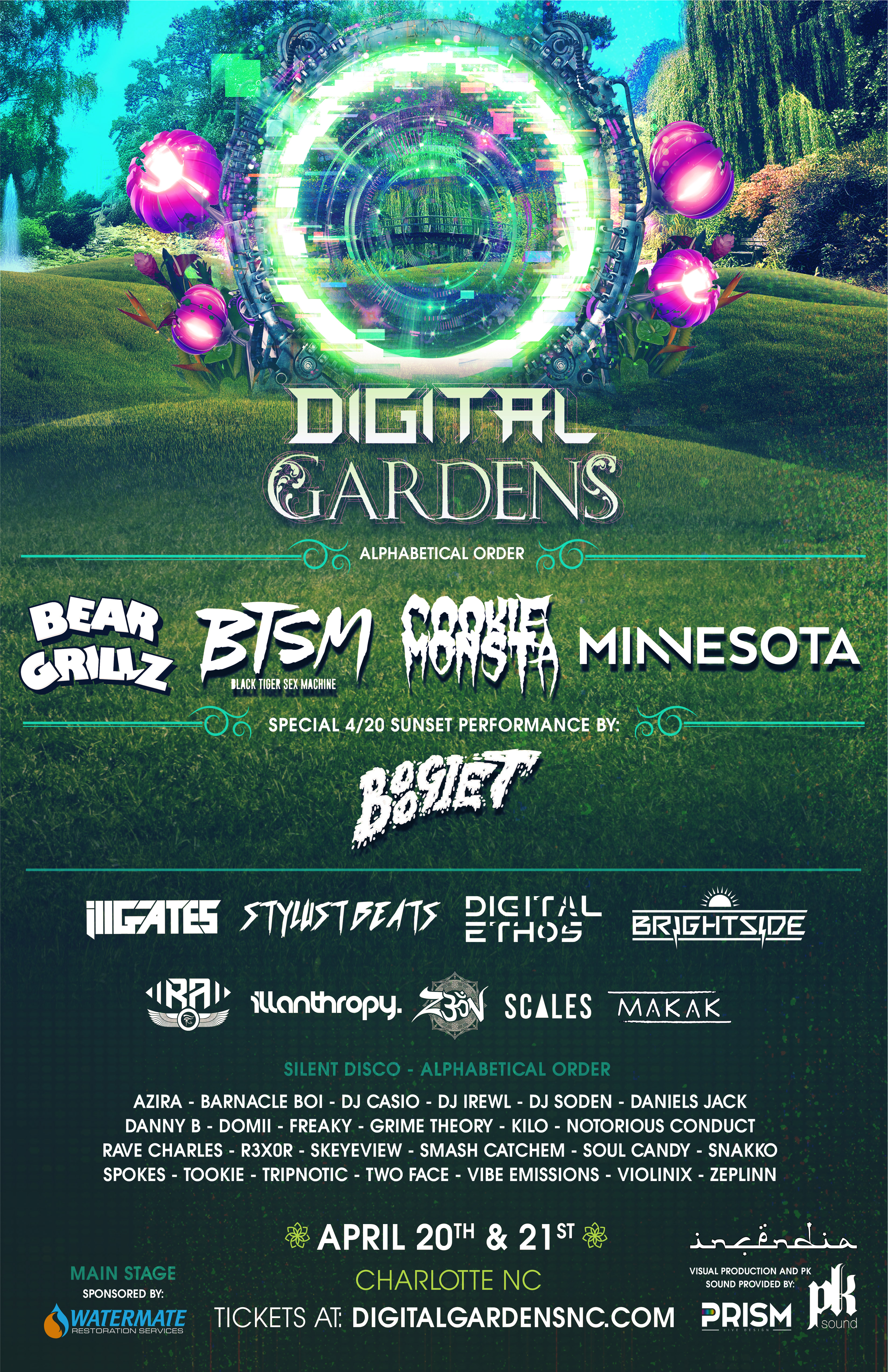 I Made A Playlist Of The Digital Garden Talent You Guys Can Check Out On  Soundcloud. The Weekend Will Definitely Not Be Lacking In Musical Talent,  Or Bass, ...