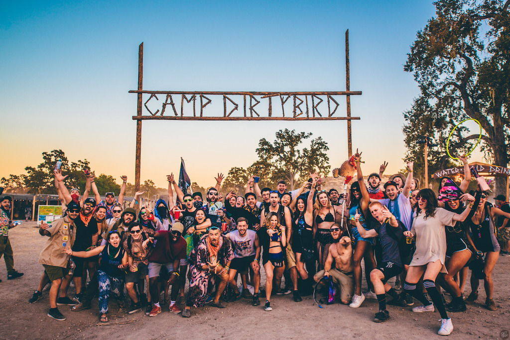 Dirtybird Campout West 2018 Lineup Announced