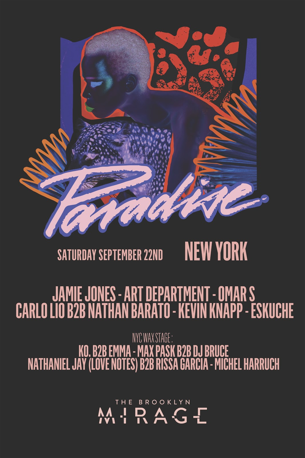 jamie jones' paradise festival to invade nyc in september | edm maniac