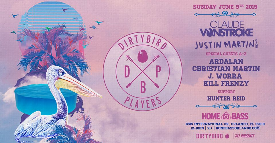 Lets Get Down and Dirtybird by the Pool at HomeBASS Orlando