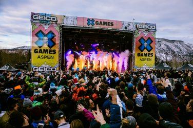 Aspen X Games Announces 3 Day Musical Lineup