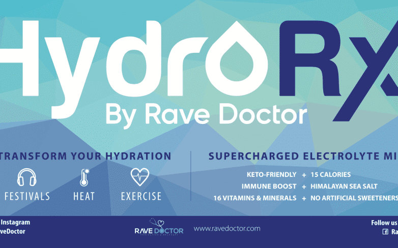 Rave Doctor Launches New Hydration Powder, Perfect for Festivals