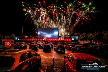 "Germany Hosts World's First ""Drive-In Rave"" With Fireworks And Everything"