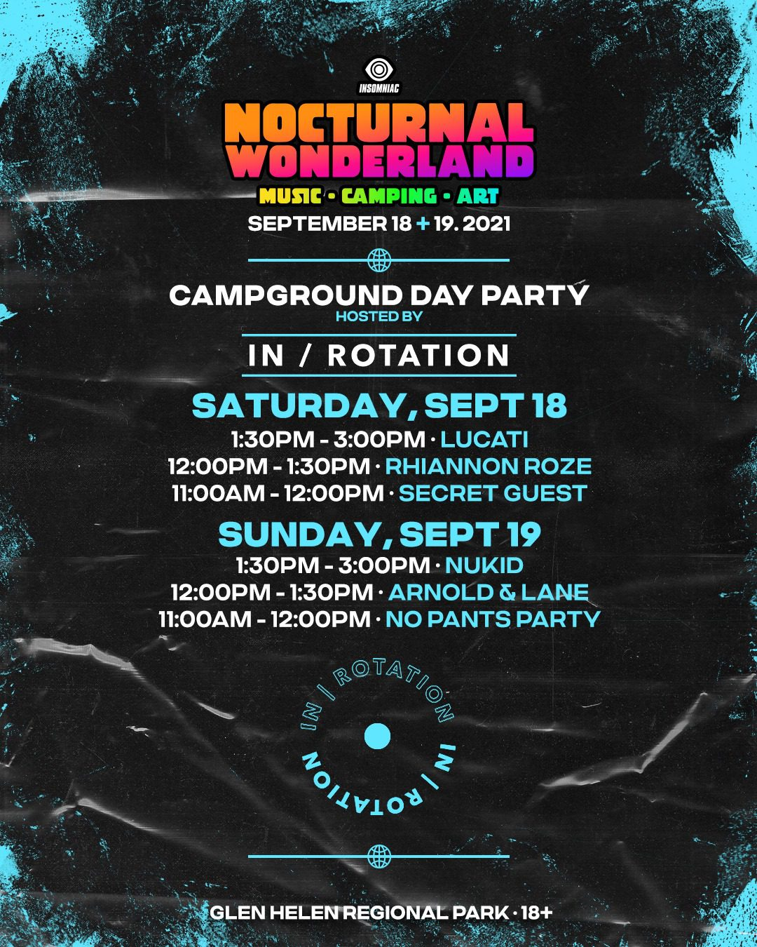 Nocturnal Wonderland Campground Day Party
